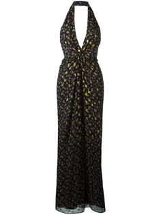 вечернее платье 'Evelina' с узором Diane Von Furstenberg