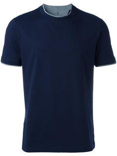 футболка с круглым вырезом под горло Brunello Cucinelli