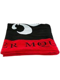 пляжное полотенце с рисунком Alexander McQueen
