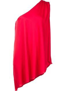 блузка на одно плечо Trina Turk