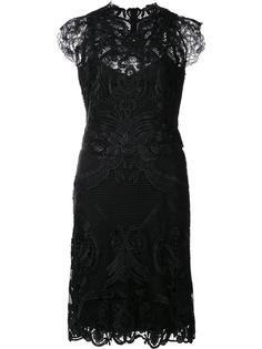приталенное платье макраме Kobi Halperin