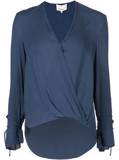 блузка свободного кроя с запахом 3.1 Phillip Lim