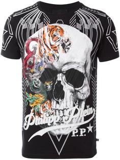 футболка 'Animals Skull' Philipp Plein