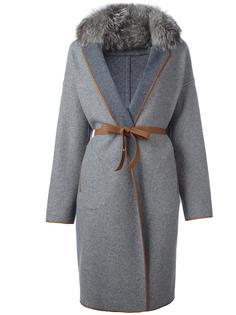 пальто с поясом Loro Piana