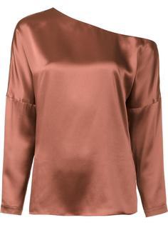 блузка с открытым плечом Tibi