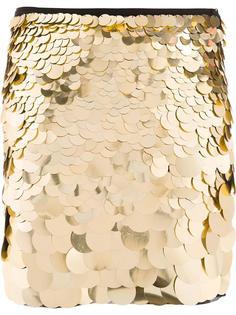 юбка с пайетками Trina Turk