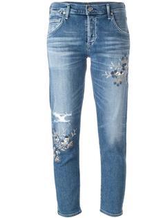 джинсы кроя скинни с потертой отделкой Citizens Of Humanity