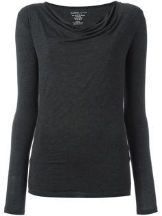 блузка с асимметричными плечами Majestic Filatures