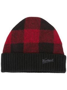 шапка-бини с логотипом Woolrich