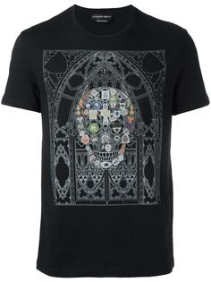 футболка с принтом 'Skull' Alexander McQueen