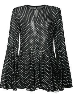 полупрозрачная свободная блузка Rosetta Getty