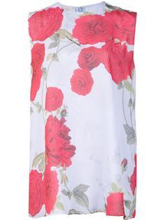 floral print top Giambattista Valli