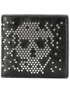 кошелек 'Skull' с заклепками Alexander McQueen