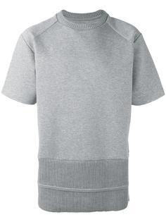 футболка с подолом в рубчик Juun.J