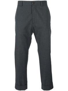 укороченные классические брюки Moncler Gamme Bleu