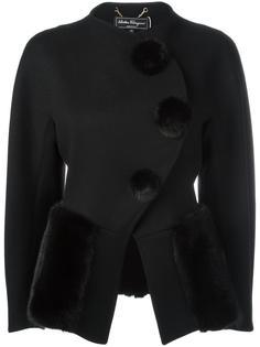 укороченный пиджак  Salvatore Ferragamo