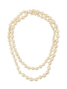 pearl chain necklace Chanel Vintage