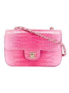сумка через плечо с откидным клапаном Chanel Vintage