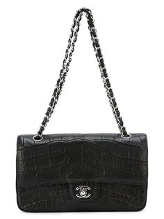 сумка с откидным клапаном на плечо Chanel Vintage
