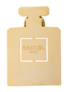 брошь в виде флакона Chanel nº5 Chanel Vintage