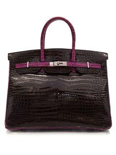 сумка 'Birkin' шириной 35 см Hermès Vintage