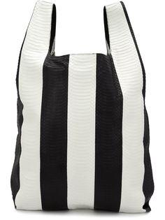 полосатая сумка-тоут  Hayward