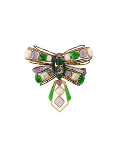брошь в виде бабочки Chanel Vintage