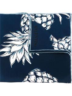 нагрудный платок с принтом ананасов Valentino