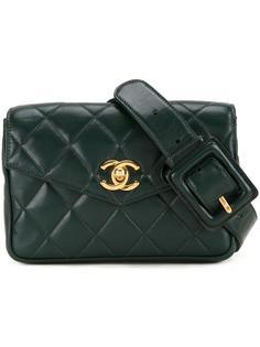 стеганая поясная сумочка Chanel Vintage