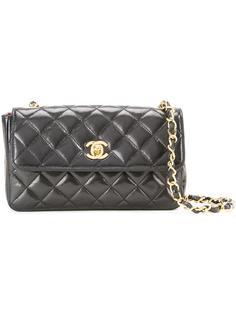 миниатюрная сумка-конверт через плечо Chanel Vintage