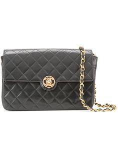 сумка с логотипом 'CC' в круге Chanel Vintage