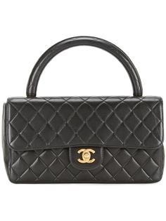 стеганая сумка-конверт Chanel Vintage