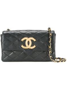 сумка-конверт с заостренным клапаном Chanel Vintage