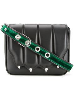 сумка на плечо с панелью в виде лапы Marco De Vincenzo