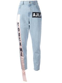 джинсы с полоской сбоку Au Jour Le Jour
