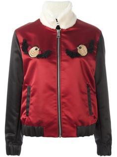 куртка-бомбер с вышивкой Au Jour Le Jour
