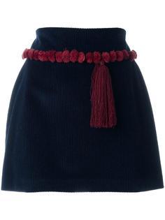 мини-юбка с декоративной кисточкой Au Jour Le Jour