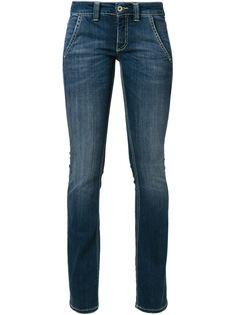 джинсы расклешенные снизу Dondup
