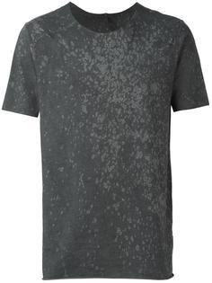 пятнистая футболка Giorgio Brato