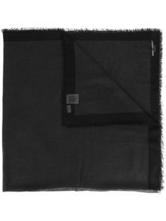 шарф с узором в горох Saint Laurent