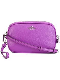 сумка через плечо с кисточками Coach