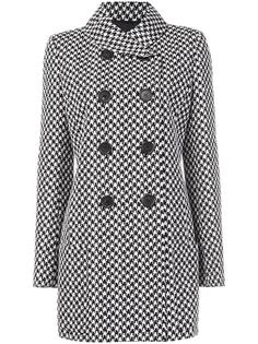 shawl collar double breasted coat Derek Lam