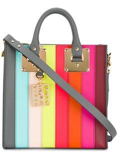 полосатая сумка-тоут 'Square Albion'  Sophie Hulme