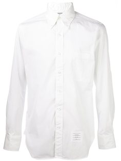 рубашка с контрастными полосками Thom Browne