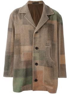 куртка с узором Yohji Yamamoto Vintage