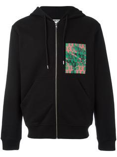 logo print zip hoodie McQ Alexander McQueen