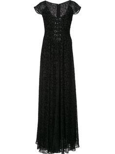 'Floral Burnout' dress Yigal Azrouel