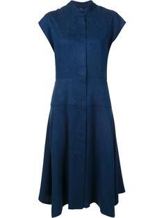 расклешенное платье с потайной застежкой Zero + Maria Cornejo