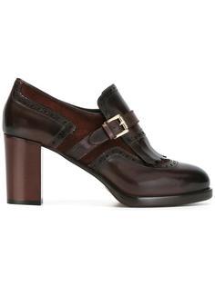 туфли-лодочки с бахромой Santoni