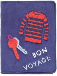 обложка для паспорта 'Bon Voyage' Lizzie Fortunato Jewels